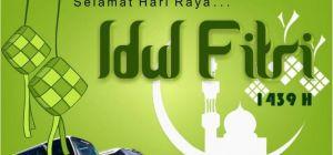 Selamat Hari Raya Idul Fitri 1439H / 2018